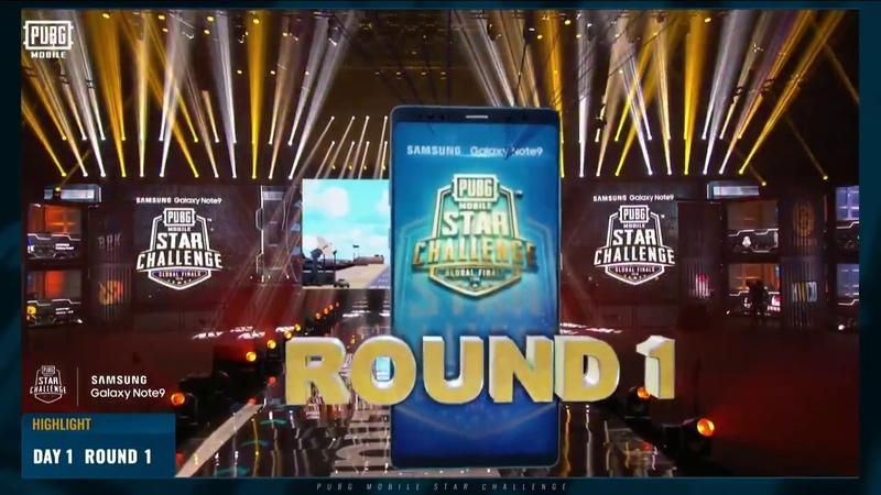 Pubg mobile Star Challenge Day 1 Round 1