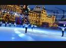 На Ледовом шоу Королевы Льда Евгения Плющенко Олимпийская Чемпионка Аделина Сотникова под трек Филиппа Киркорова Снег на гла