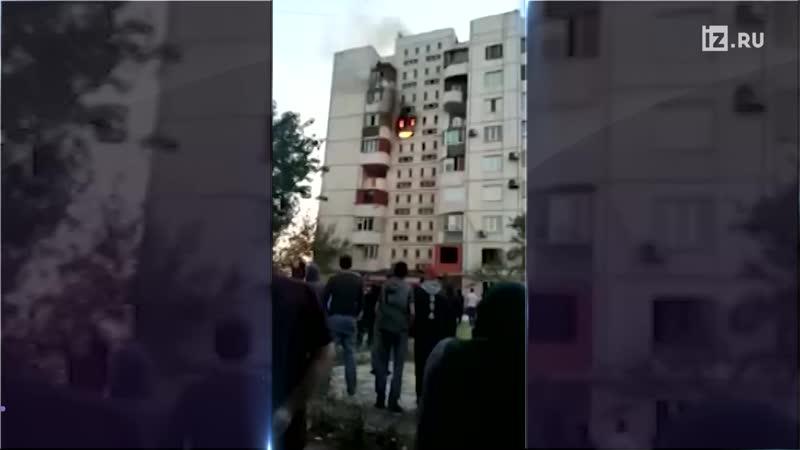 Житель Дагестана спас семью из горящей квартиры