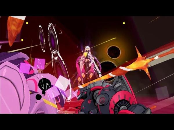 崩壊3rd God Kiana slaughtering double boss in abyss Honkai Impact 3rd