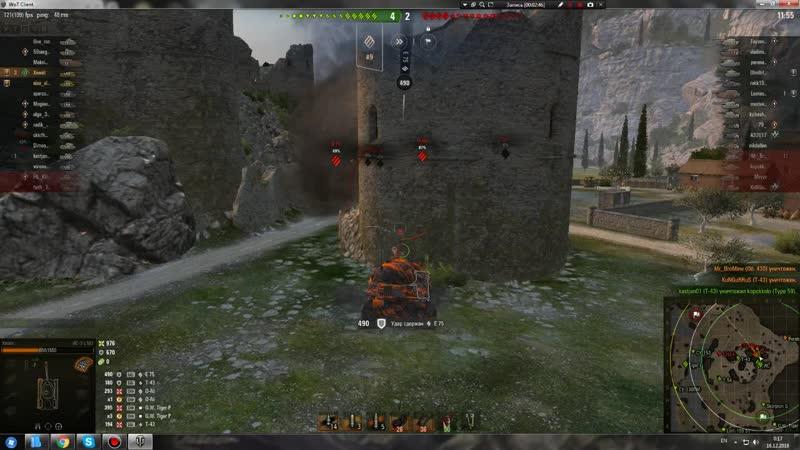 Воин на ИС-3 с МЗ