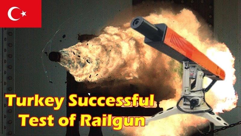 Turkey Announces Successful Test of 'Sapan' Railgun Hypervelocity Weapon
