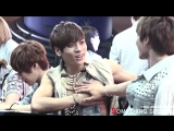 jjongie accidentally freeing the nipple and minho acting fast