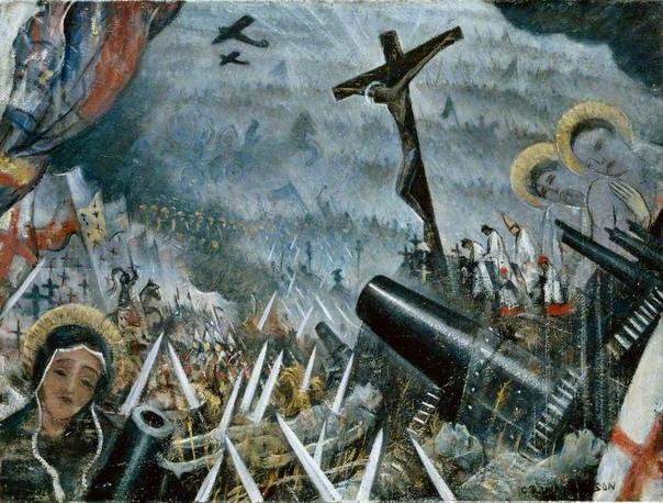 Кристофер Невинсон один из самых известных военных художников В 1914 году, с началом войны, Невинсон, пацифист по убеждениям, добровольно записывается в медицинскую часть дабы не брать в руки
