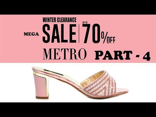 METRO SHOES UPTO 70 % OFF MEGA SALE LADIES TRENDING FOOTWEAR PART 4