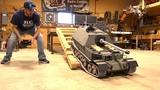 GIANT TANK DESTROYER FIRST DRIVE! FERDINAND ELEFANT ARMORTEK All Metal 16 Scale RC ADVENTURES