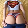 Super Girl's Sweet Butt Cosplay ft AJ Afterparty · coub коуб