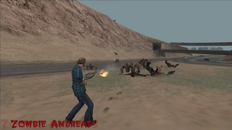 Zombie Andreas 2.0 Updated Crazy Gamemode 3