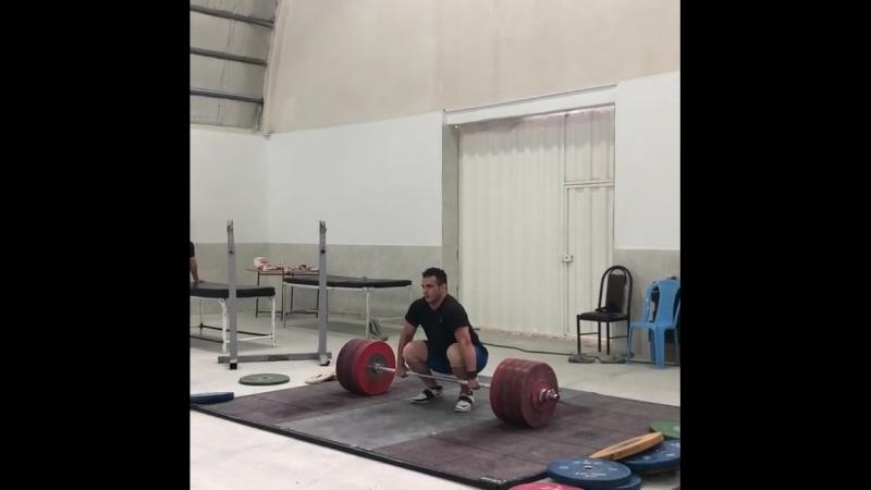 Sohrab Moradiii 230 kg