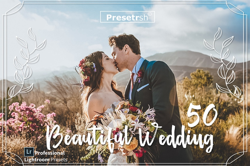50 Wedding Lightroom Presets Collection.zip