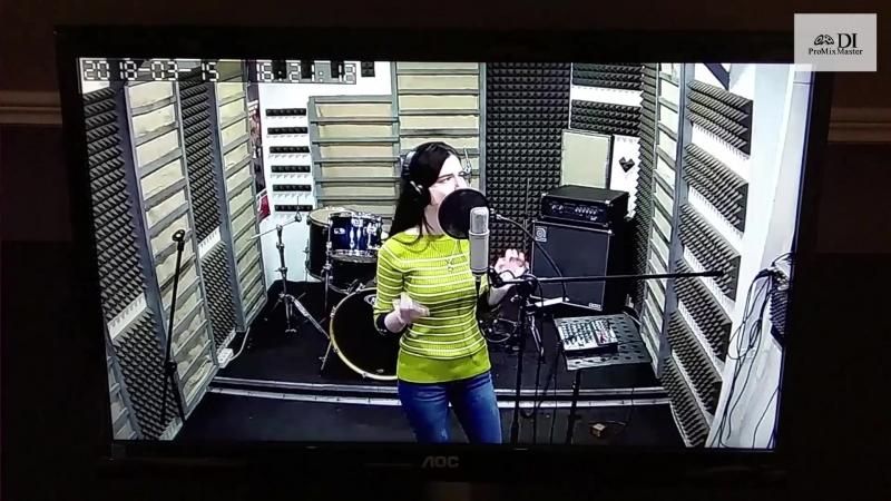 DI ProMixMaster. Записываем вокал с Таней Галай.