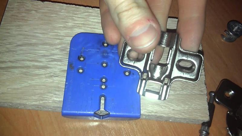 Мебельный кондуктор, шаблон для разметки под отверстия