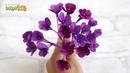 Маленькие цветы из бумаги ☆ МЕЛКОЦВЕТ из гофрированной бумаги Своими Руками ☆ Поделки из бумаги