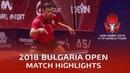 Chuang Chih Yuan vs Vladimir Samsonov | 2018 Bulgaria Open Highlights (R16)