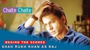 Chalte Chalte Behind The Scenes Shah Rukh Khan as Raj Rani Mukherji