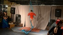 Bongoeventbar at Faiza Tribal / Ирина Гомон/ Aerial silks / Воздушные полотна Киев / Центр Ирис