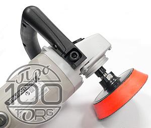 Насадка МЯГКА D125 М14, оправка, опорный диск