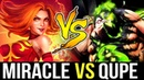 MIRACLE- vs Qupe - Top Ranked Lina vs Best Pub Pudge