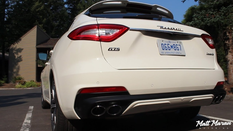Sound: 2019 Maserati Levante GTS