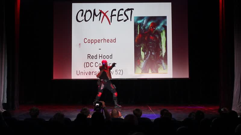 Copperhead - Red Hood (DC Comics, Universe New 52) - COMxFEST 2018