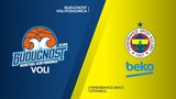 Buducnost VOLI Podgorica - Fenerbahce Beko Istanbul Highlights | EuroLeague RS Round 14