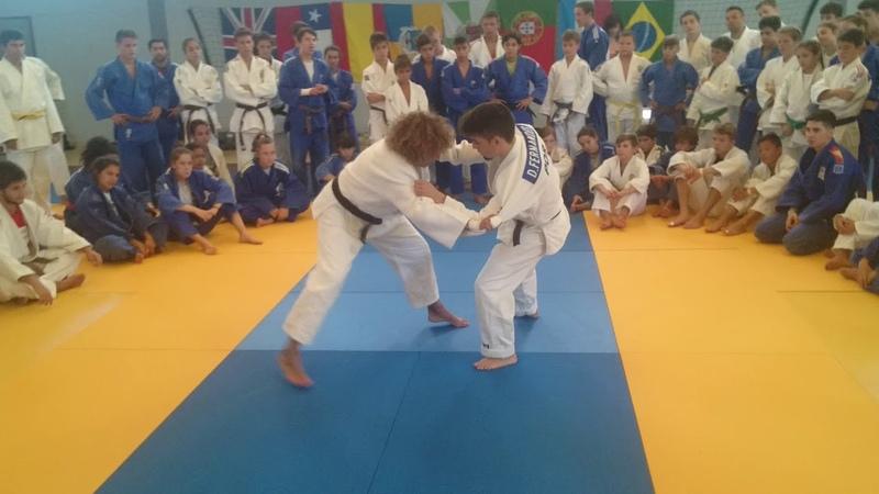 Curso en Alvor Portugal el Judo es mi vida yoko tomoe