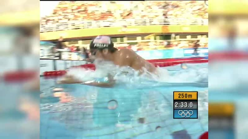 Michael Phelps 1st Olympic Gold Medal Throwback Thursday