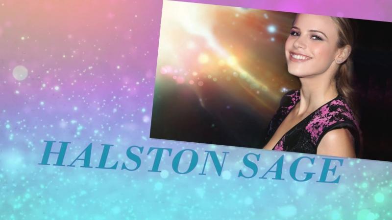 Хелстон Сейдж Halston Sage. Slideshow ХелстонСейдж HalstonSage