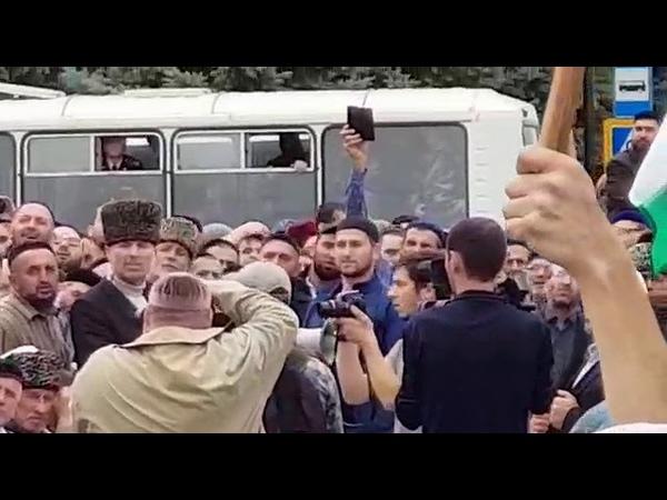 Евкуров вышел к народу Ингушетии