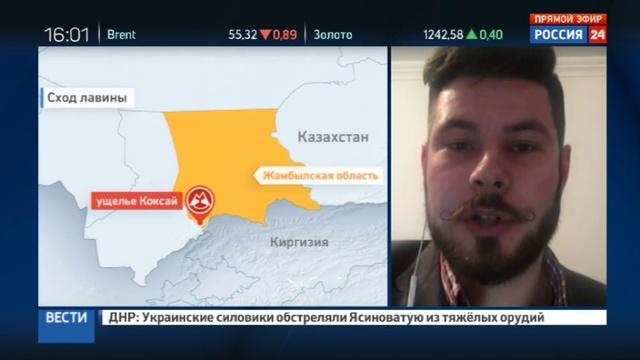 Новости на Россия 24 • Во время учений в ущелье на юге Казахстана солдат накрыла лавина