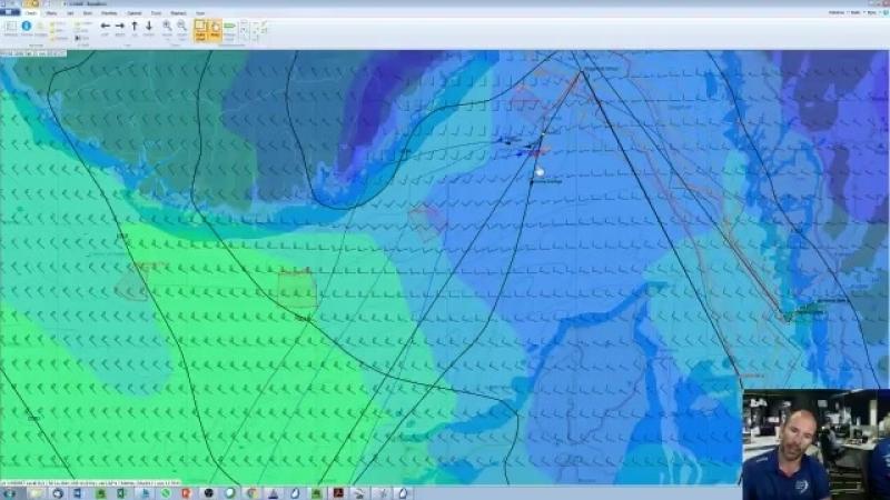 Streategy change! Head west. Watch the explanation from Volvo Ocean Race meteorologist Gonzalo.