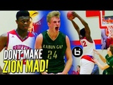 Zion Williamson Gets HECKLED &amp RESPONDS w BLOCK Party!