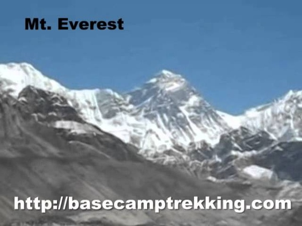 Mt. Everest - Highest Mountain In the World in Nepal, South Asia