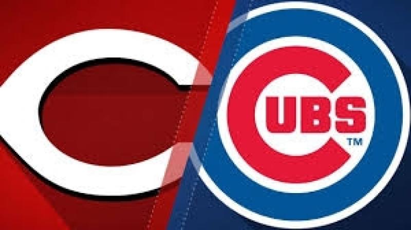 NL / 23.08.2018 / CIN Reds @ CHI Cubs (1/4)