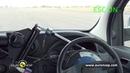 Euro NCAP Mercedes Benz CITAN 2013 ESC test