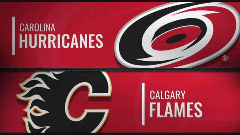 NHL Regular Season 2018-19 Carolina Hurricanes-Calgary Flames
