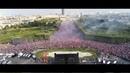 La foule Parisienne en liesse après la victoire de leurs héros 15 Juillet 2018