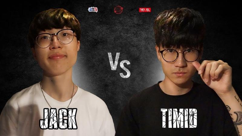 Jack VS Timid | Die To Die Vol.4 | 1/2 Final