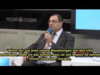 Russ Fernsehen - die deutsche Frage