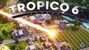 Tropico 6 Метеоритный дождь и ТОЛПЫ беженцев 3