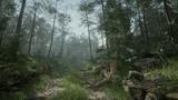 Создание леса за 1 час в Unreal Engine 4. На русском