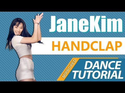 [ Mirrored ver. ] DANCE TUTORIAL : Fitz and the Tantrums - HANDCLAP