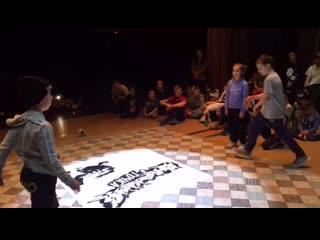 Студия современного танца MAFIA танцоры на баттле BREAK DANCE фестиваль