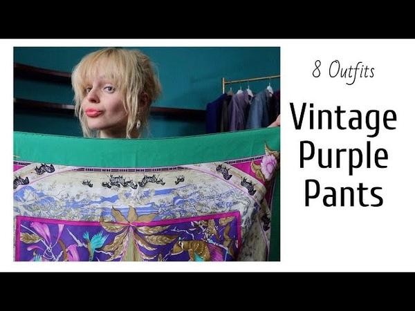 8 Vintage Outfits Clothing Haul 2019 Покупки в секонд хенд