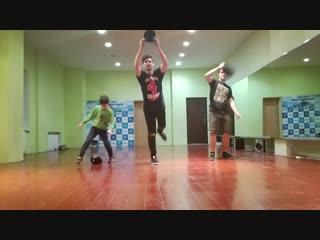 Крамп. Тренировка. Влад Бабин. Студия танцев TRANCE-DANCE, Донецк