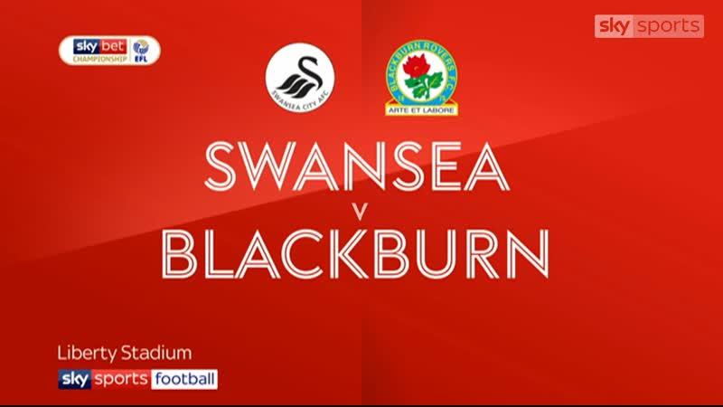 «Суонси Сити» - «Блэкберн Роверс» 3:1 (Sky Sports)