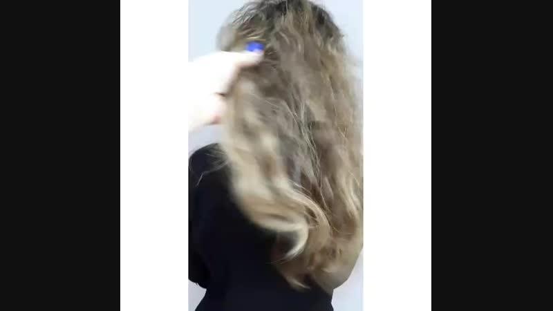 Кератин INOAR 🔥❤ Моя любовь😍💣 Волосы после процедуры вымыт и высушен феном без расчески ☝️ Результат до 6 месяцев👌 👩🎓