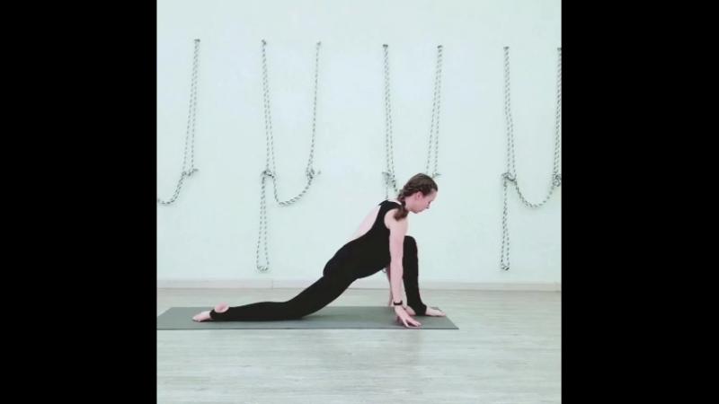 Хатха йога с Анастасией Любимовой