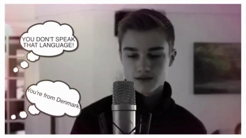 NOSA NOSA Ai Se Eu Te Pego (cover версия) Поёт в живую, без фонограммы