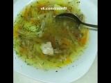 Гречневый суп с капустой.